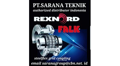 Logo PT. Sarana Teknik Authorized Distributor Indonesia For Rexnord Falk